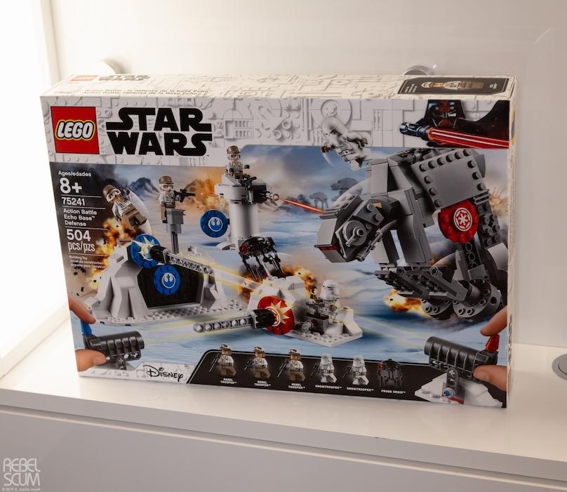 TESB Echo Base Defense Lego Set