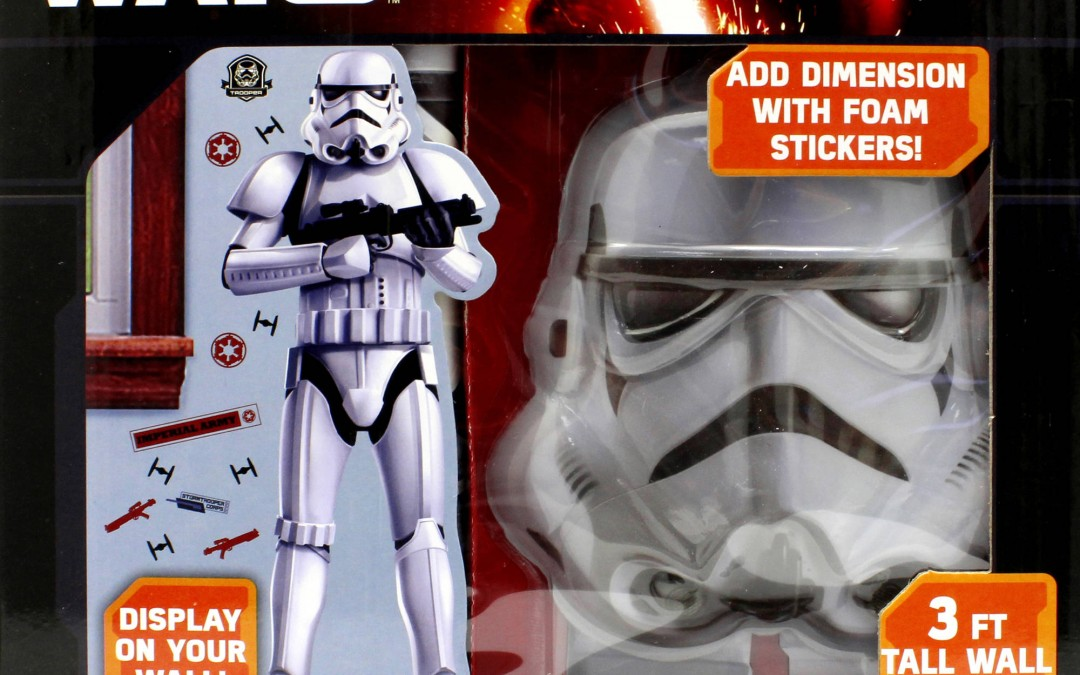 New Force Awakens 3D Wall Decal Activity Set now available!