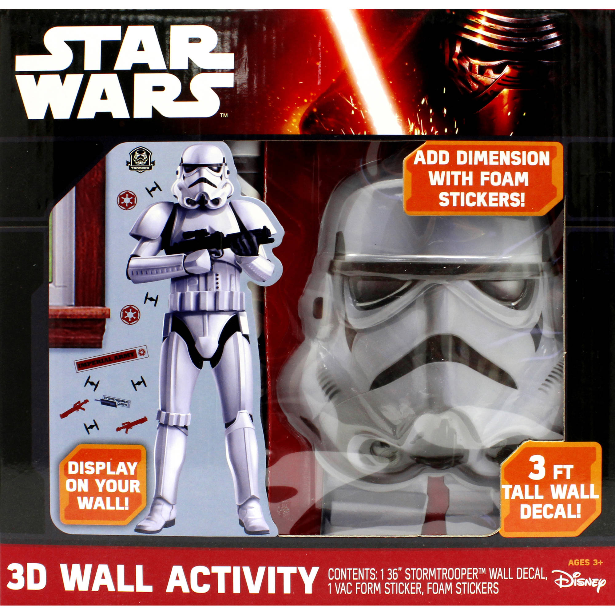 TFA 3D Wall Decal Activity Set 1