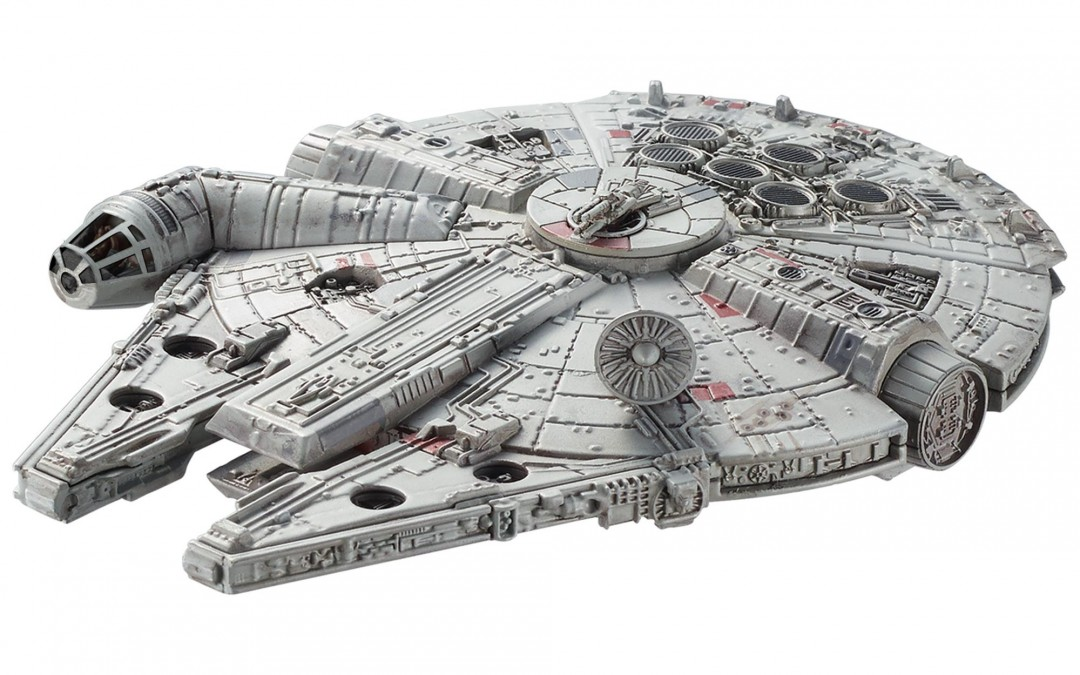 New A New Hope Hot Wheels Millennium Falcon Adventure Starship now in stock!