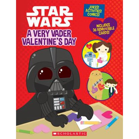 "New Star Wars ""A Very Vader Valentine's Day"" Book now available!"