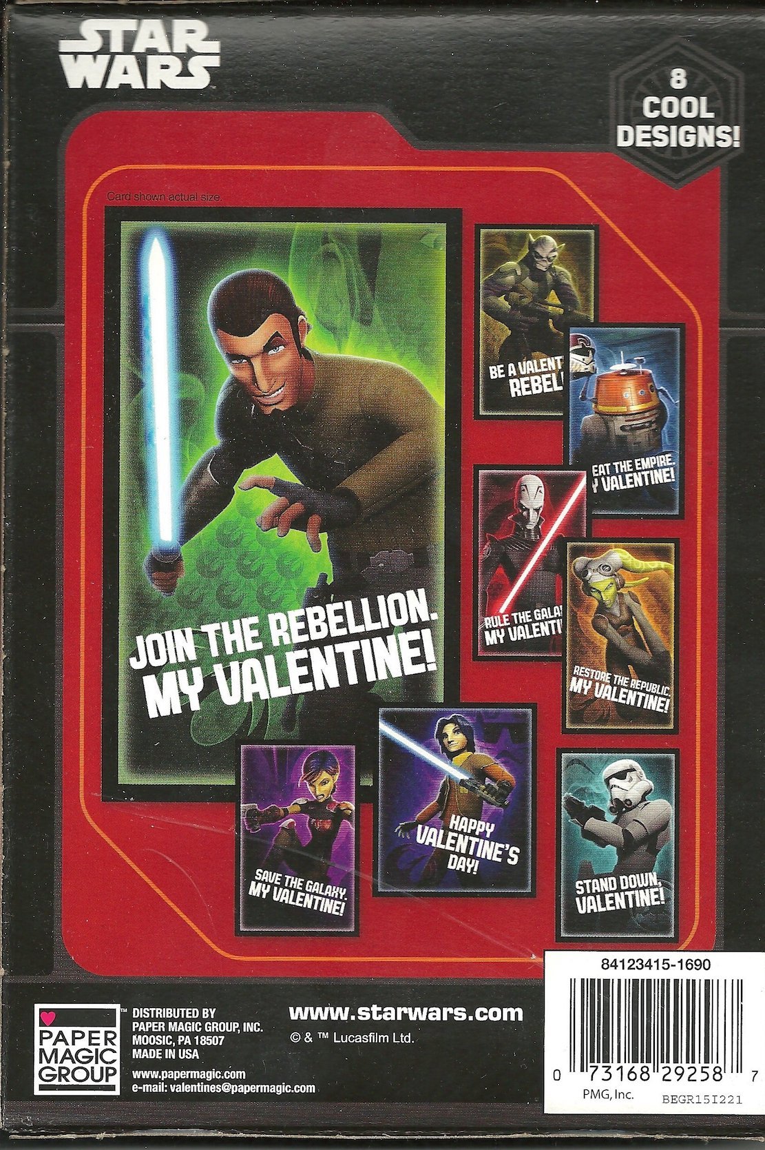 TFA (SWR) 32 Valentine's Day Card Pack 2