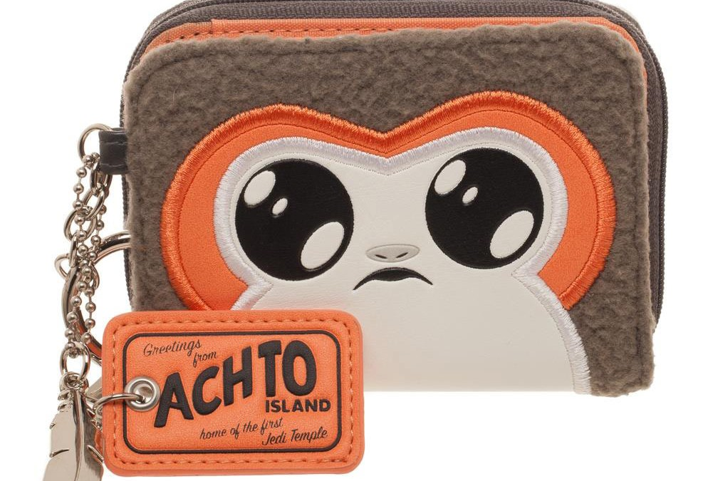 New Last Jedi Porg Juniors Zipper Wallet now available!
