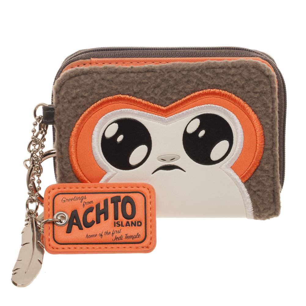 TLJ Porg Juniors Zipper Wallet 1
