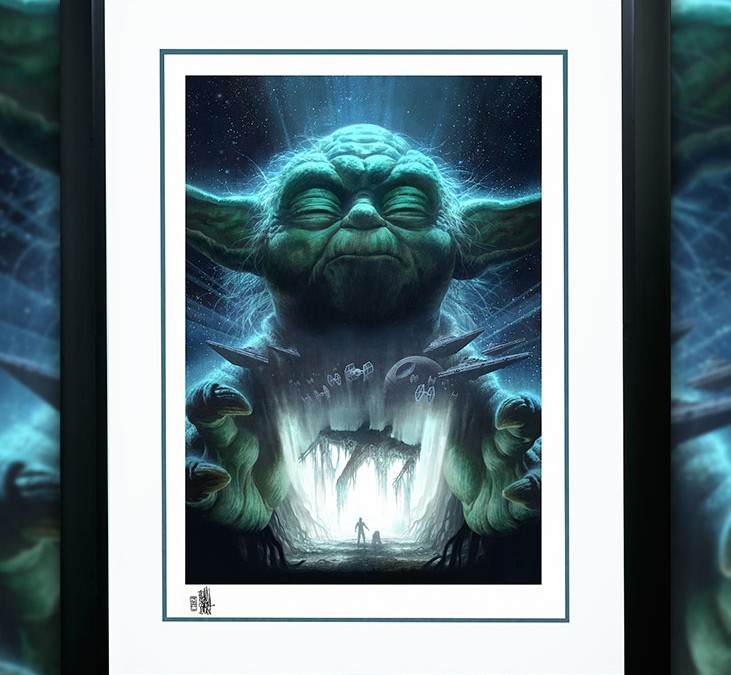 "New Star Wars ""Luminous Beings Are We"" Art Print available for pre-order!"