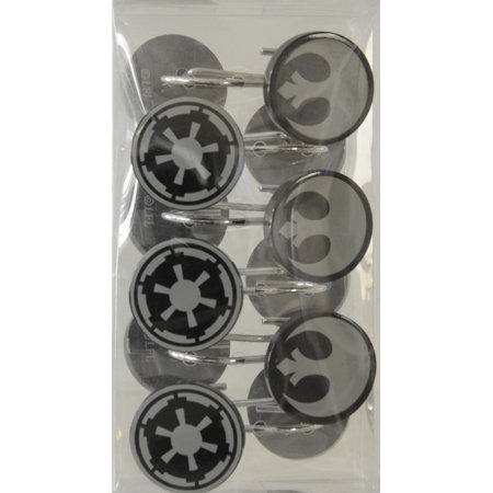 SW Rebel and Empire Symbol Shower Hooks Set 1