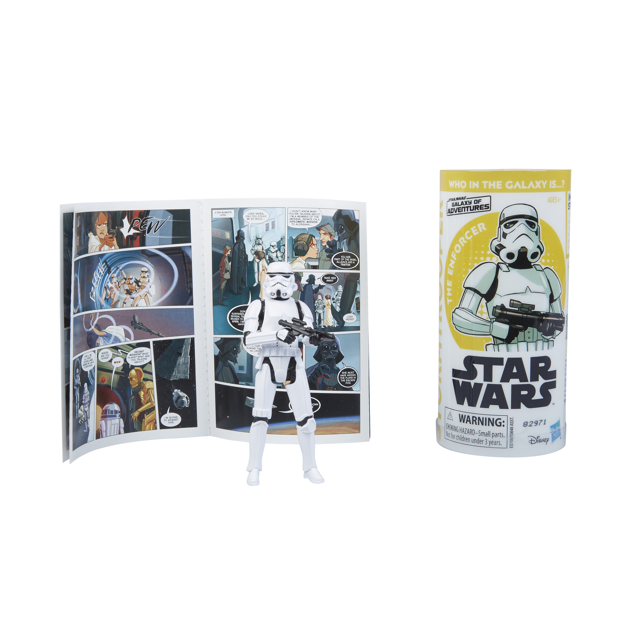 SW GOA Imperial Stormtrooper Figure and Mini Comic Set 1