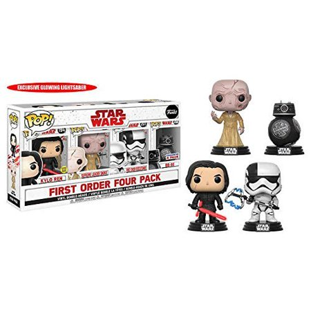 New Last Jedi Funko Pop! First Order 4-Pack Bundle now in stock!