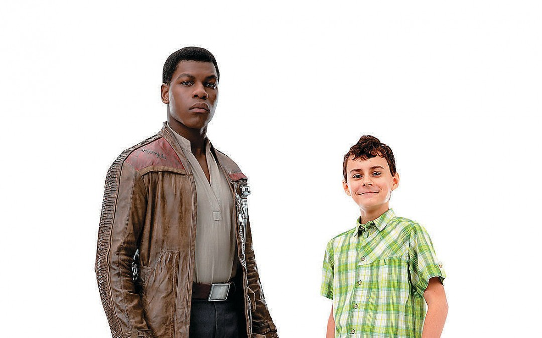 New Last Jedi Finn Life-Size Cardboard Cutout Standee available now!