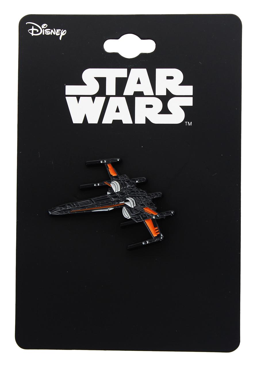 TLJ Poe Dameron's X-Wing Enamel Collector Pin 1