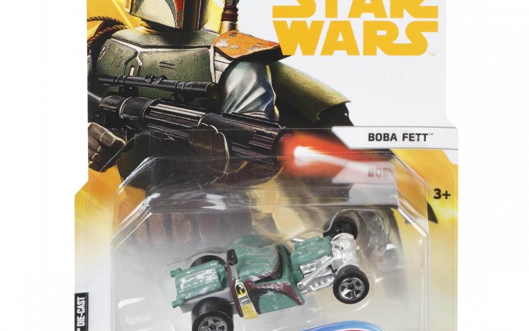 New Solo Movie Boba Fett Hot Wheels Character Car now available!