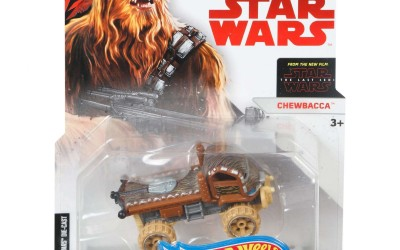 New Last Jedi Chewbacca Hot Wheels Character Car now available!