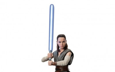 New Last Jedi Rey Life-Size Cardboard Cutout Standee now available!