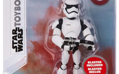 New Last Jedi First Order Stormtrooper Toybox Figure now available!