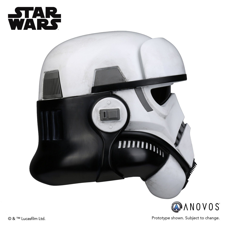 Solo: ASWS Imperial Patrol Trooper Helmet Accessory 2