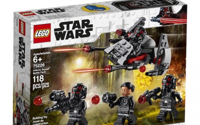 New Star Wars Inferno Squad Lego Battle Pack now available!