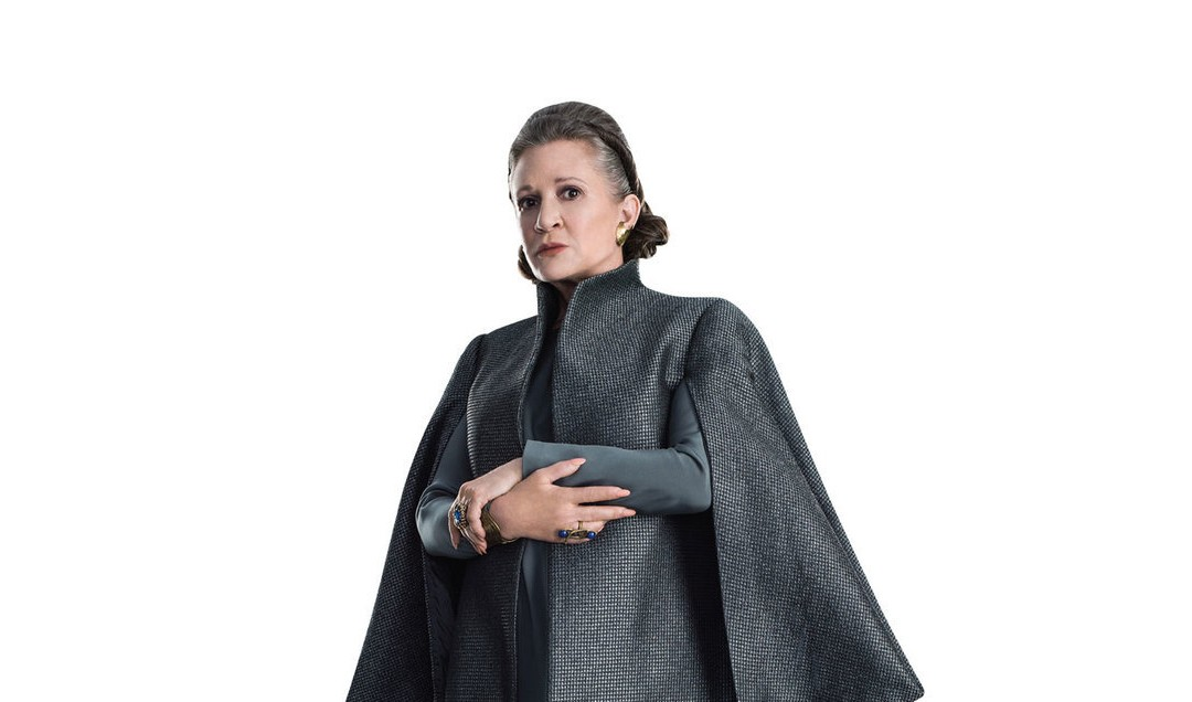 New Last Jedi General Leia Organa Life-Size Cardboard Cutout Standee now available!