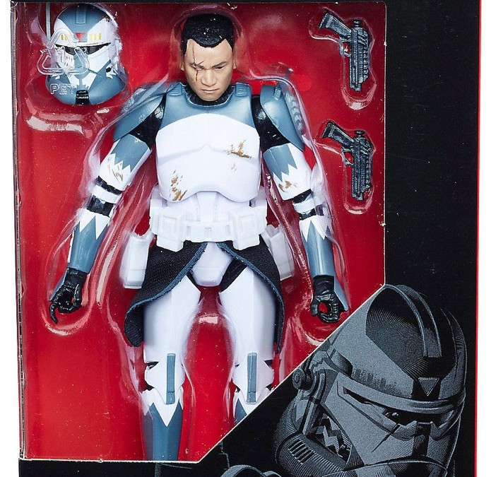 New Clone Wars Commander Wolffe Black Series figure now available!