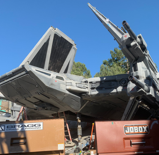 Exclusive First Look at new TIE Fighter from Galaxy's Edge Revealed!