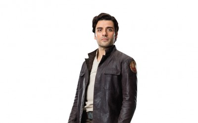 New Last Jedi Poe Dameron Life-Size Cardboard Cutout Standee now available!