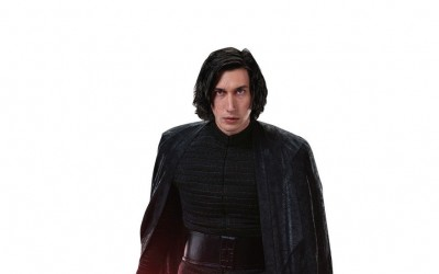 New Last Jedi Unmasked Kylo Ren Life-Size Cardboard Cutout Standee now available!
