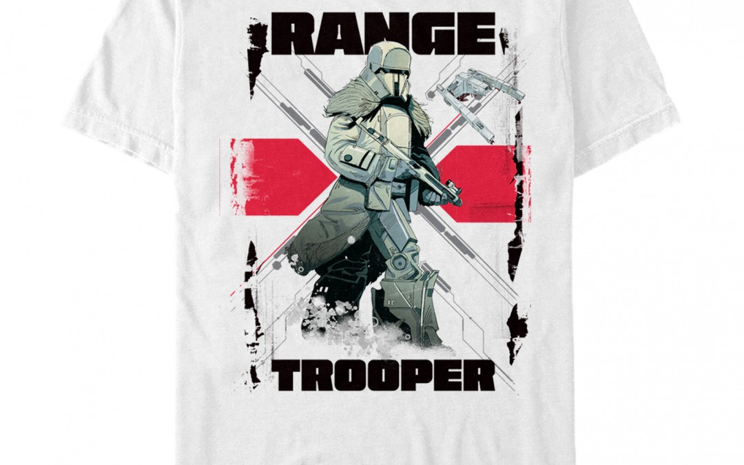 New Solo Movie Imperial Range Trooper Stripe T-Shirt now available!