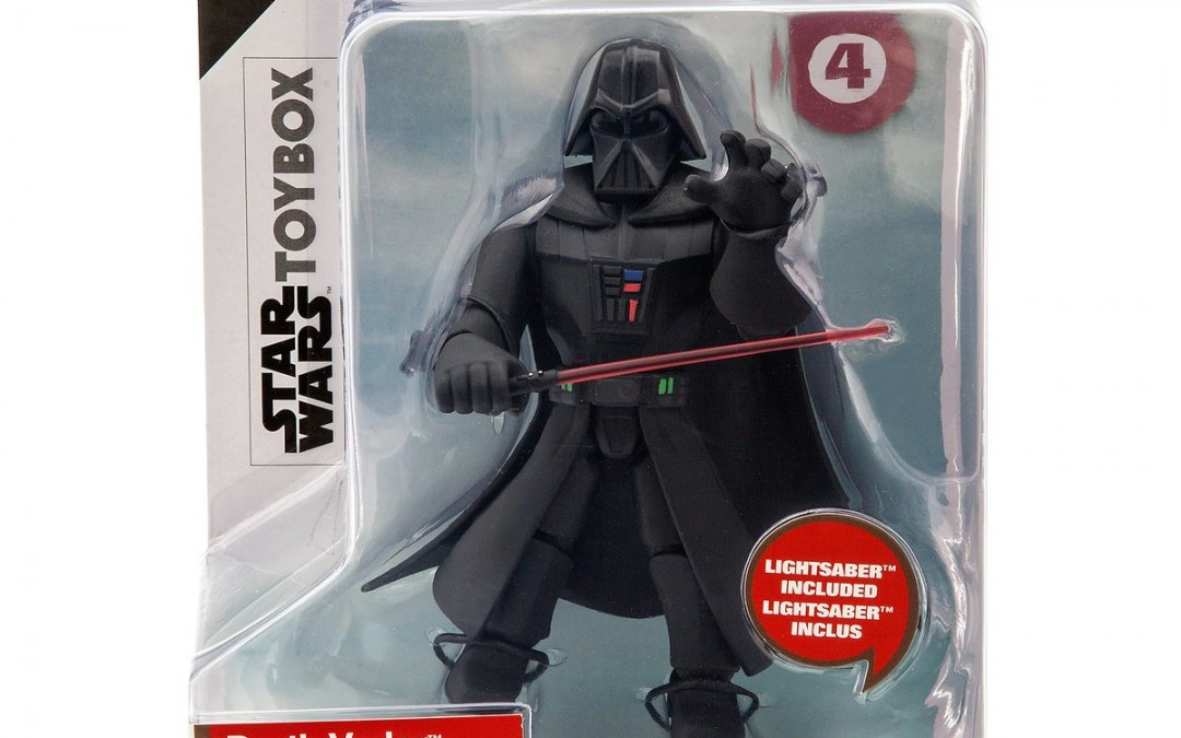 New Star Wars Darth Vader Toybox Figure now available!