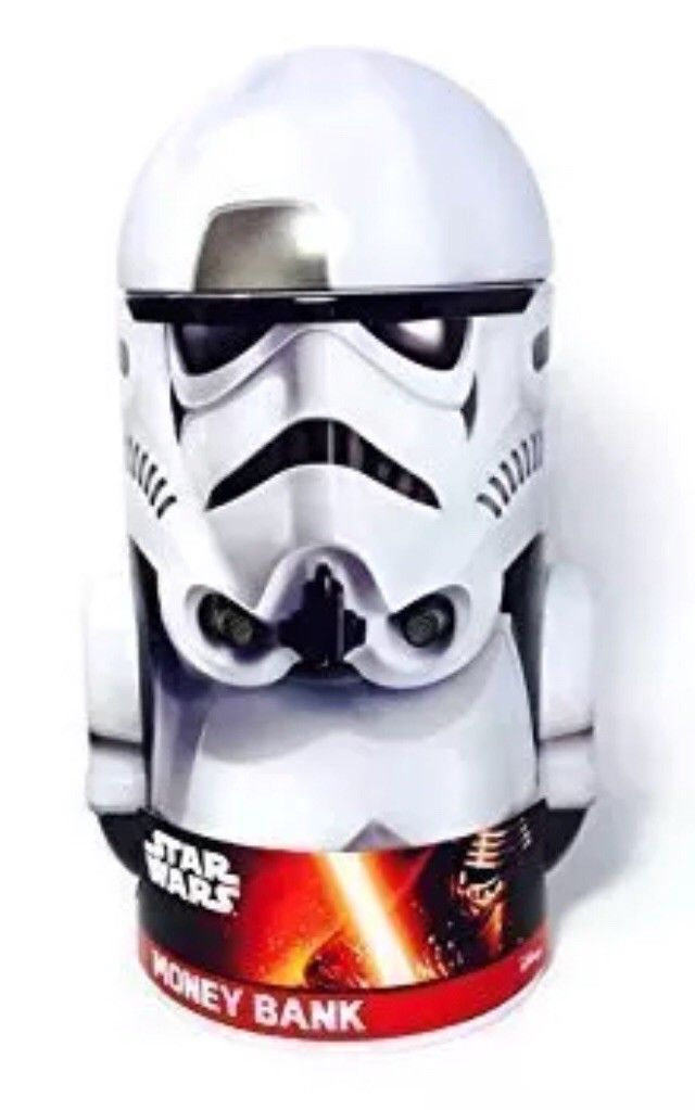 TFA Stormtrooper Rounded Tin Coin Bank 1