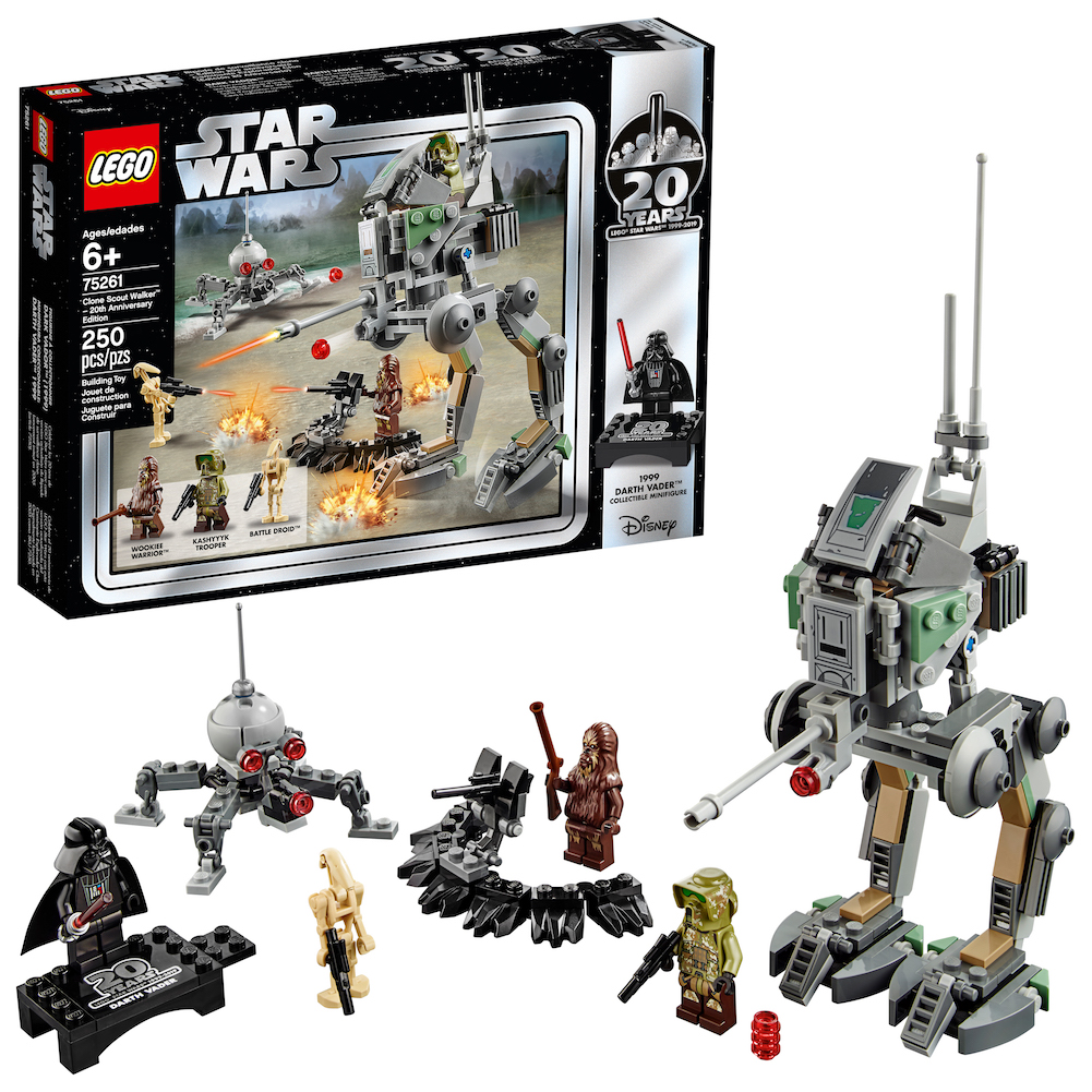 ROTS 20th Anniversary Edition Clone Scout Walker Lego Set 1