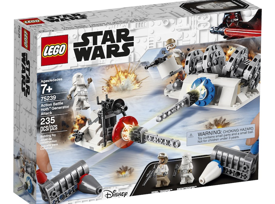 New Empire Strikes Back Action Battle Hoth Generator Attack Lego Set available!