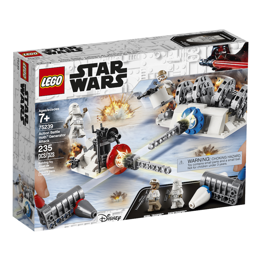TESB Action Battle Hoth Generator Attack Lego Set 2