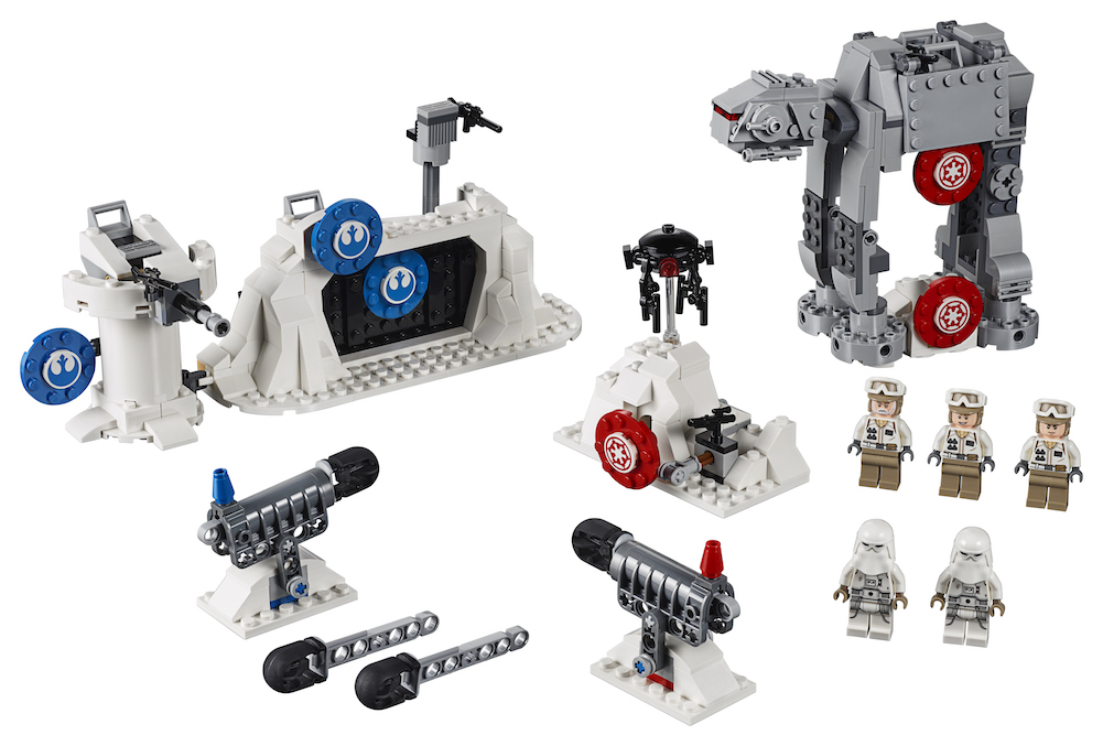 TESB Action Battle Echo Base Defense Lego Set 4