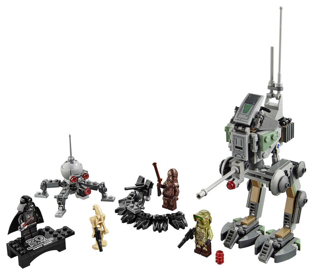 ROTS 20th Anniversary Edition Clone Scout Walker Lego Set 4