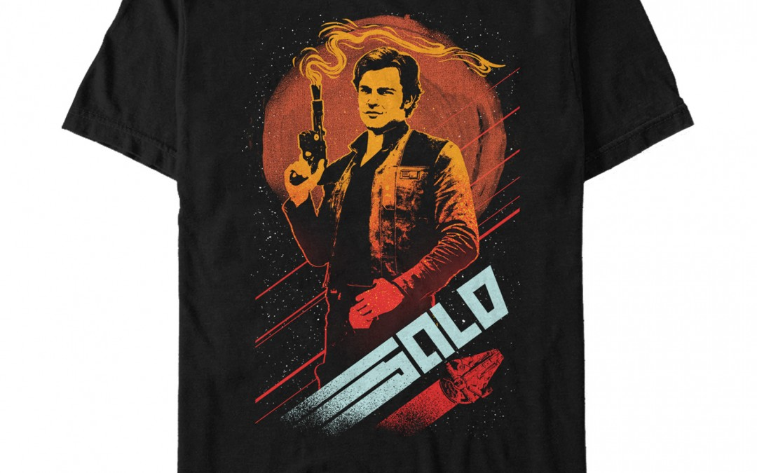 New Solo Movie Fifth-Sun Men's Smoking Blaster T-Shirt available now!