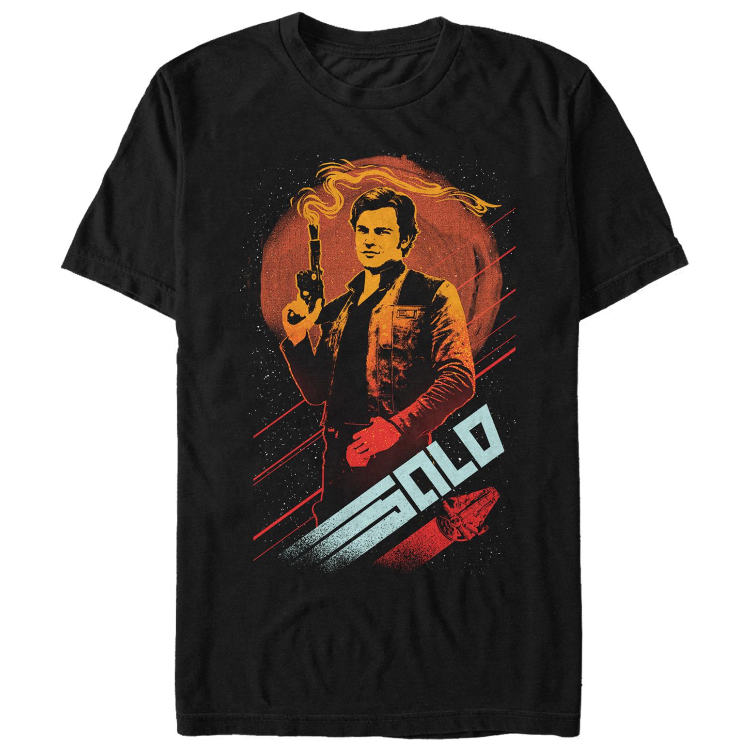 Solo: ASWS Fifth-Sun Men's Smoking Blaster T-Shirt