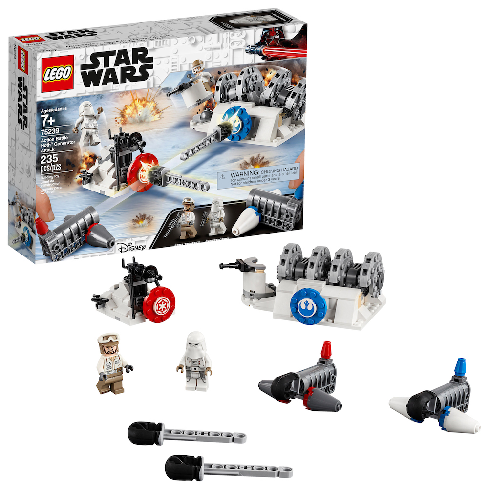 TESB Action Battle Hoth Generator Attack Lego Set 1