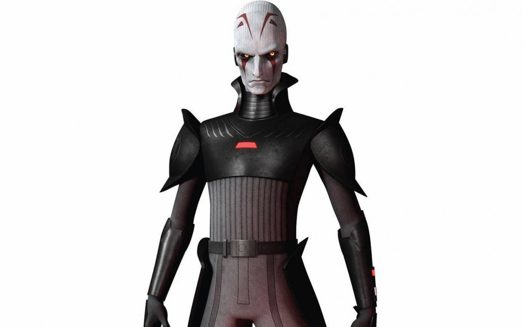 New Star Wars Rebels The Grand Inquisitor Cardboard Standee now in stock!