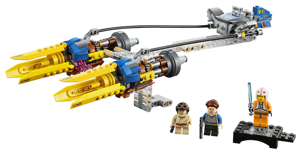 TPM 20th Anniversary Edition Anakin's Podracer Lego Set 4