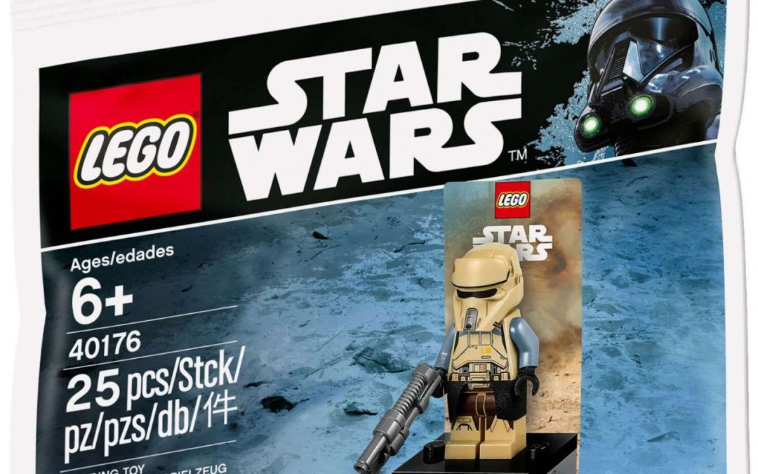New Rogue One Scarif Trooper Lego Polybag Set now available!