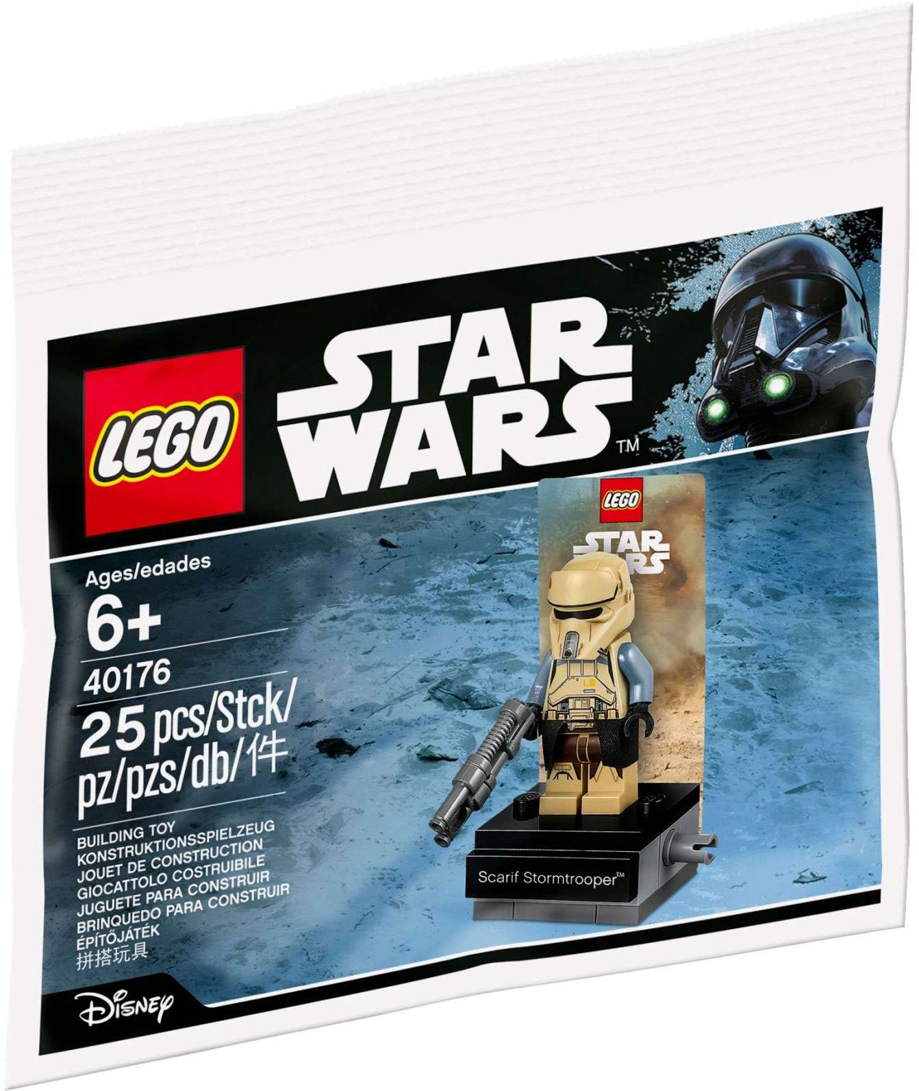 RO Scarif Trooper Lego Polybag Set