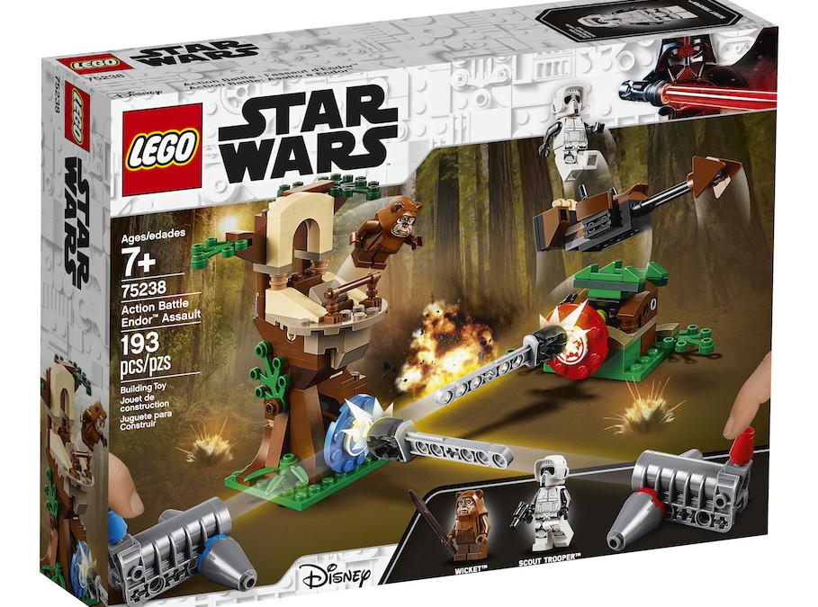 New Return of the Jedi Action Battle Endor Assault Lego Set now available!