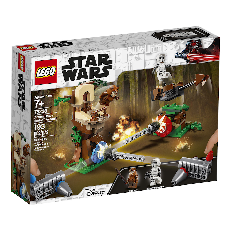 ROTJ Action Battle Endor Assault Lego Set 2