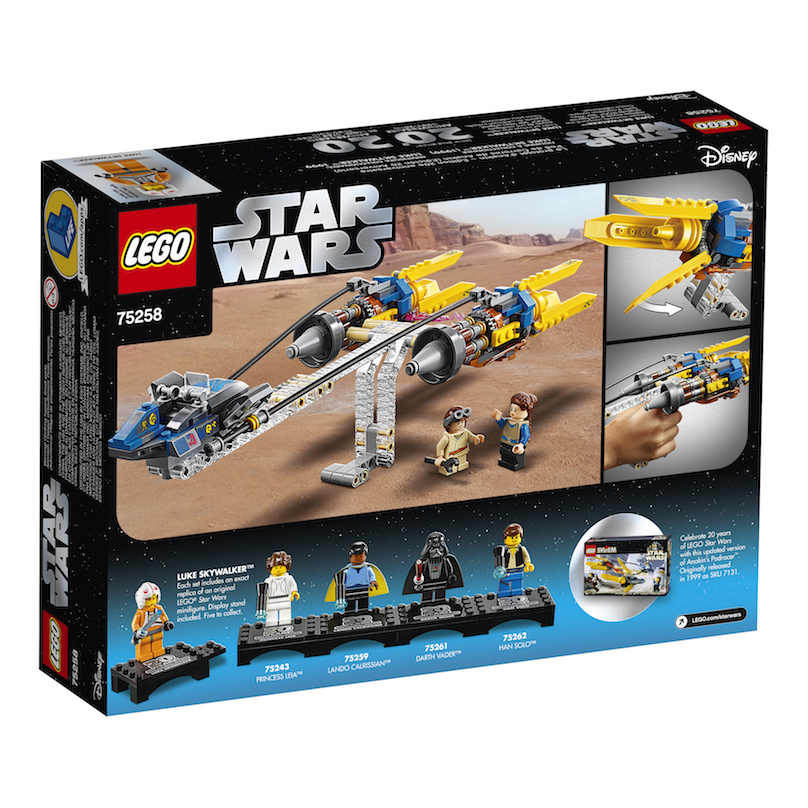 TPM 20th Anniversary Edition Anakin's Podracer Lego Set 3