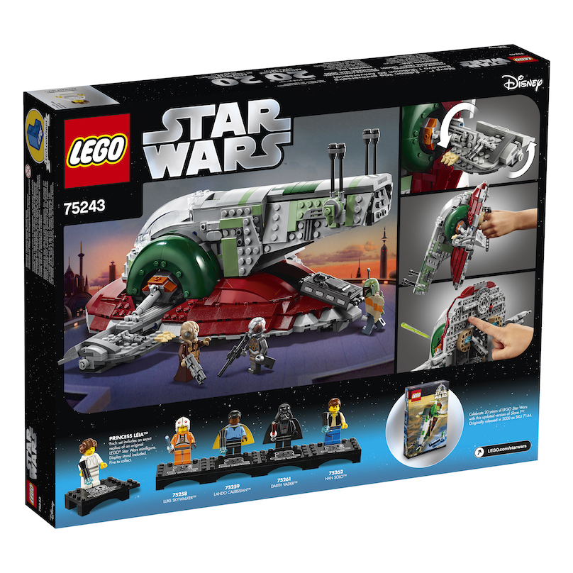 TESB 20th Anniversary Edition Slave l Lego Set 3
