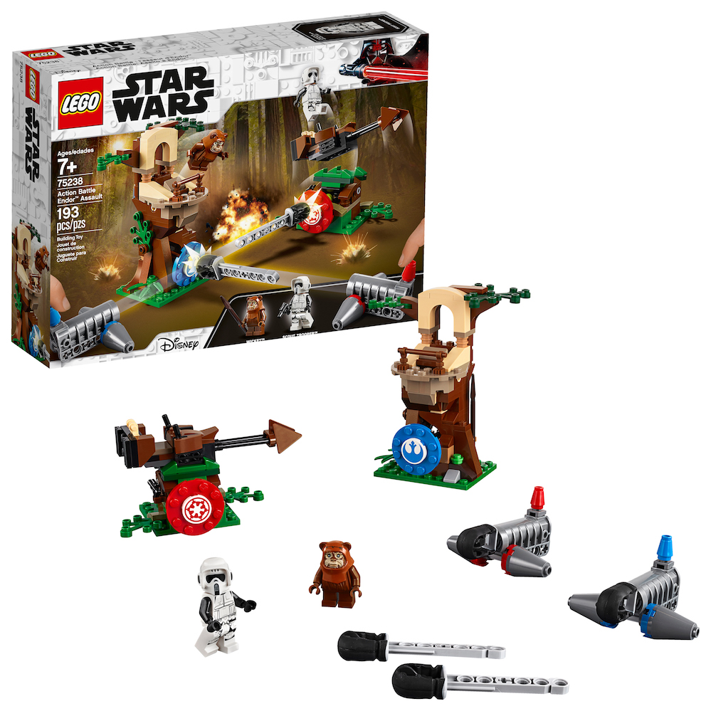 ROTJ Action Battle Endor Assault Lego Set 1