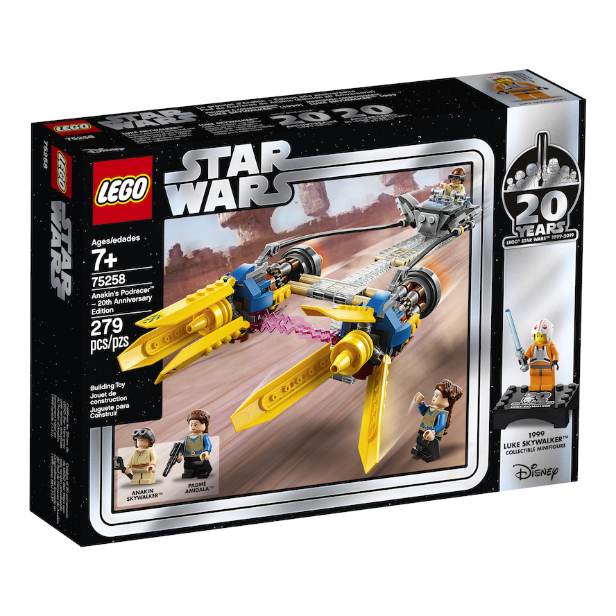 TPM 20th Anniversary Edition Anakin's Podracer Lego Set 2