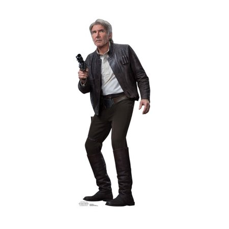 New Force Awakens Han Solo Life-Sized Cardboard Standee available now!