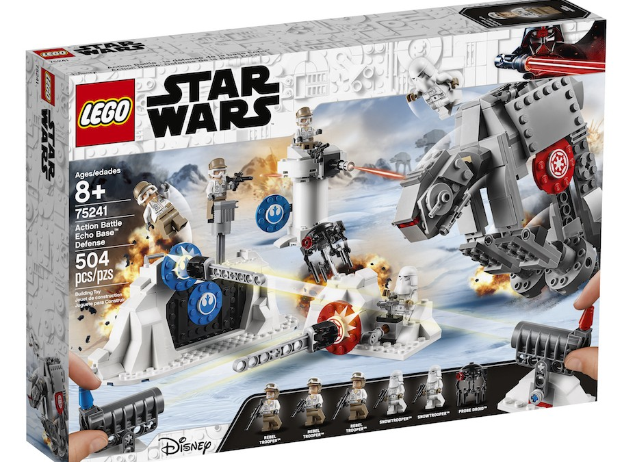 New Empire Strikes Back Action Battle Echo Base Defense Lego Set now available!