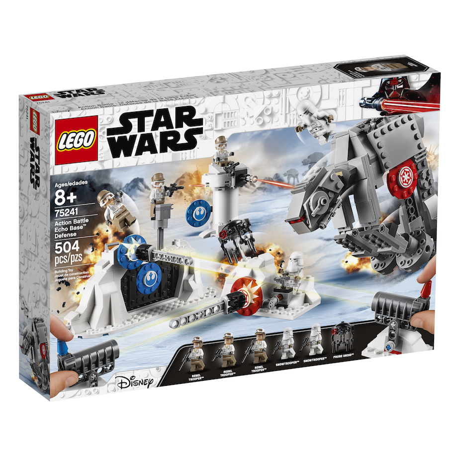TESB Action Battle Echo Base Defense Lego Set 2