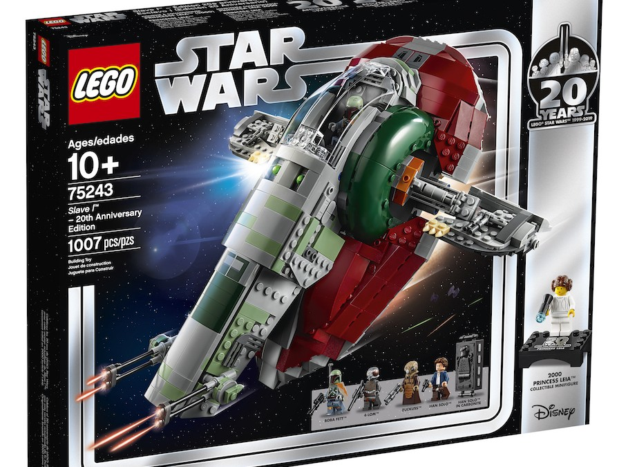 New Empire Strikes Back 20th Anniversary Edition Slave l Lego Set in stock!